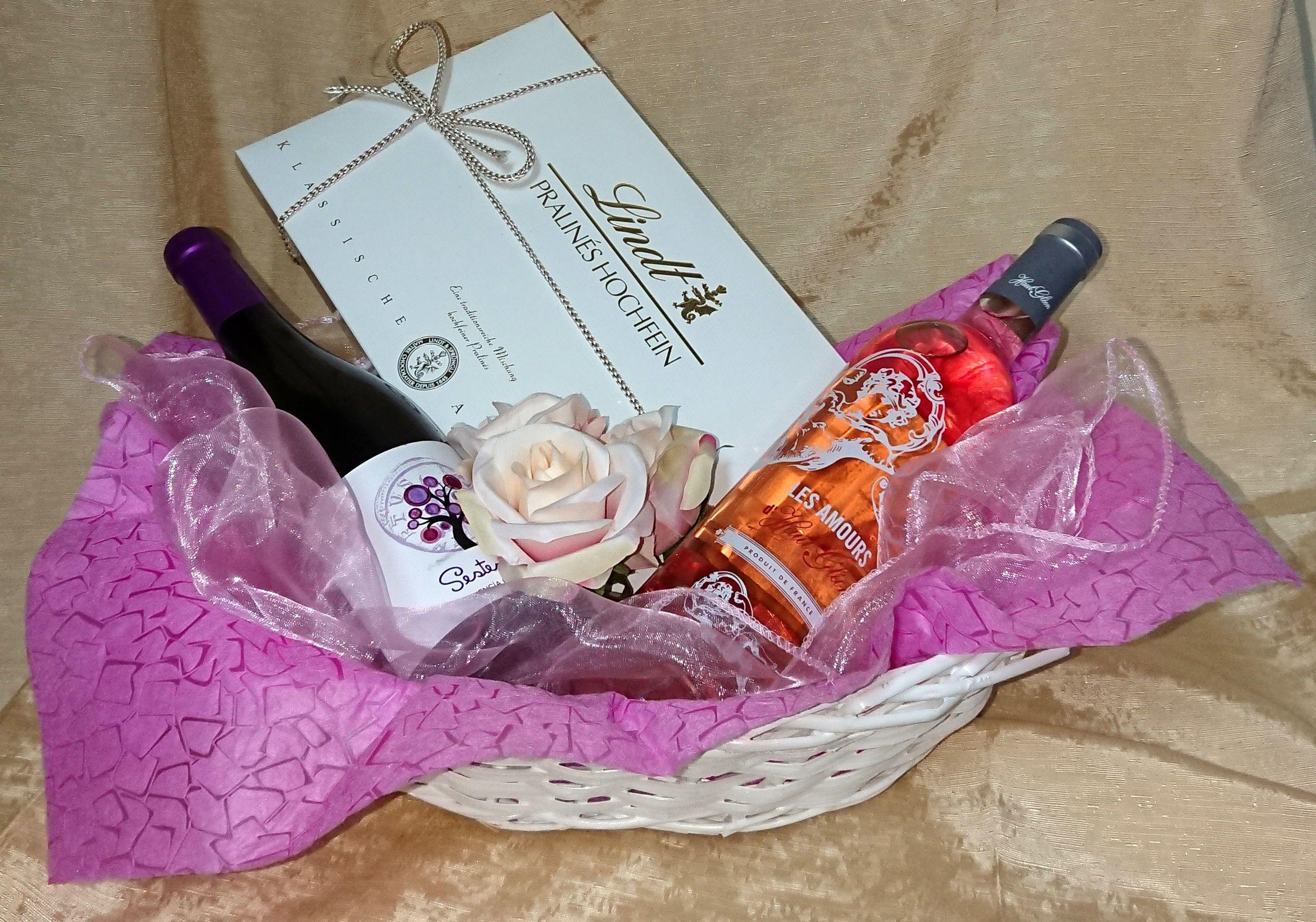 Кошница Fruktmix Lindt, доставки на плодове, кошници, кошница с плодове, кошници с плодове