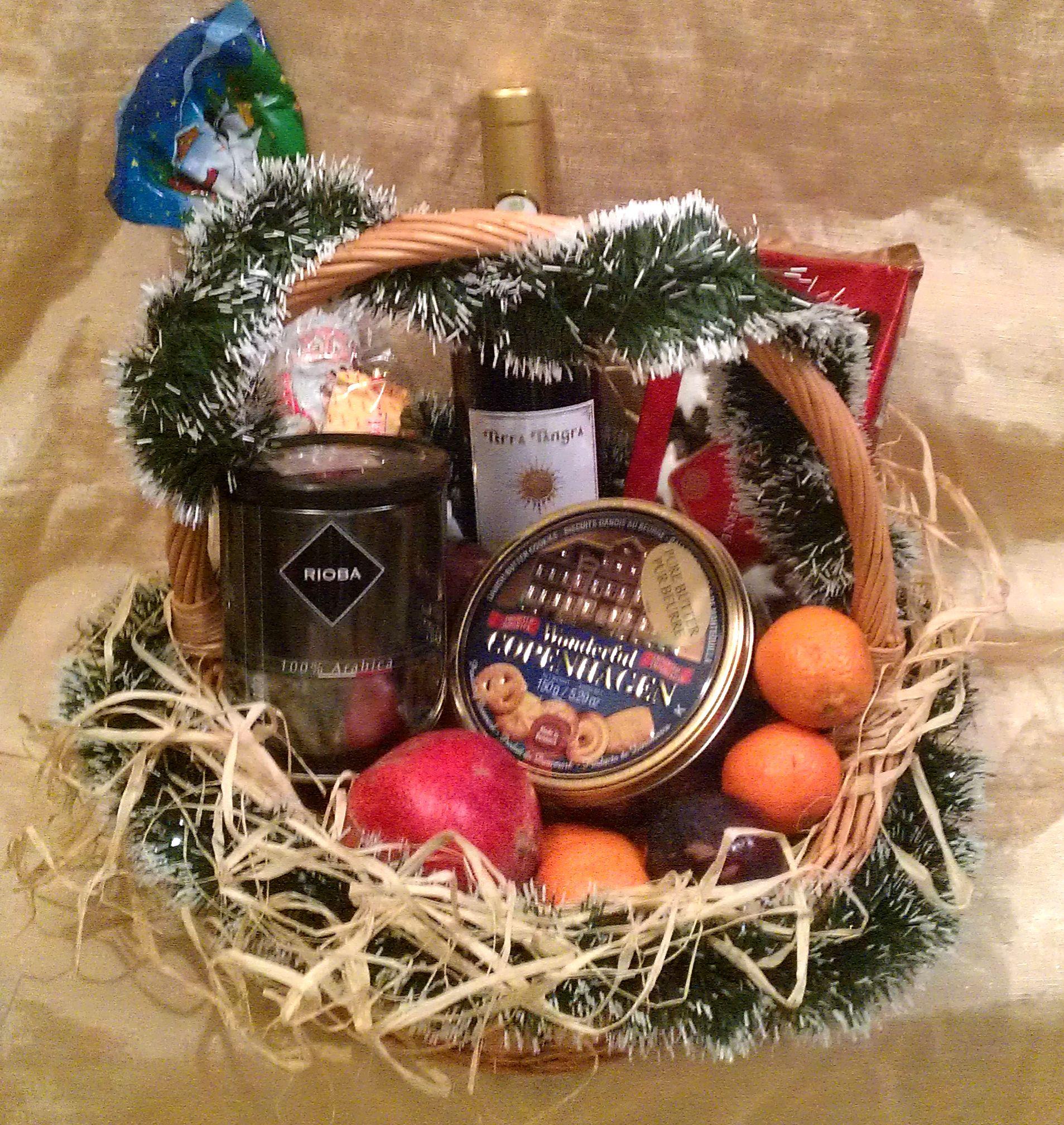 коледна кошница, коледни кошници, коледа, кошници, кошница с плодове, кошници с плодове